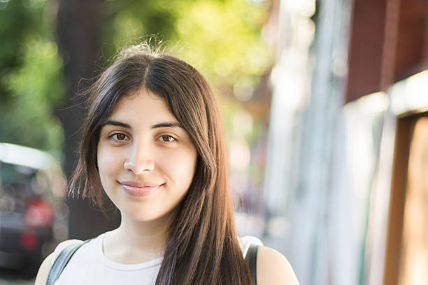 Happy Latina Young Woman – Foto