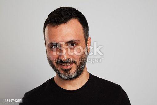 istock Happy Laughing Man 1131474055