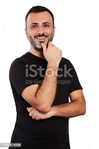 istock Happy Laughing Man 1131474058