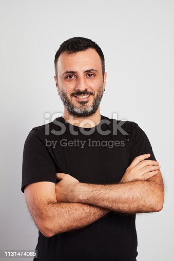 istock Happy Laughing Man 1131474065