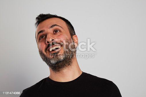 istock Happy Laughing Man 1131474066