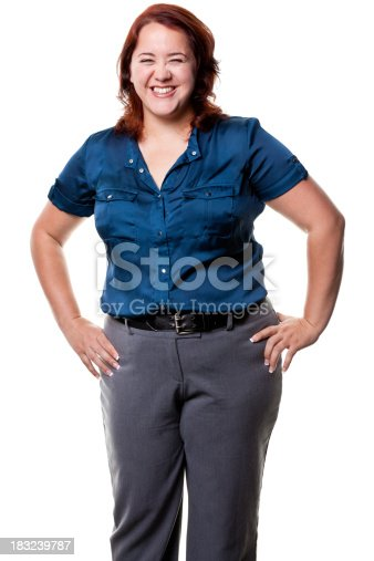 istock Happy Laughing Woman 183239787