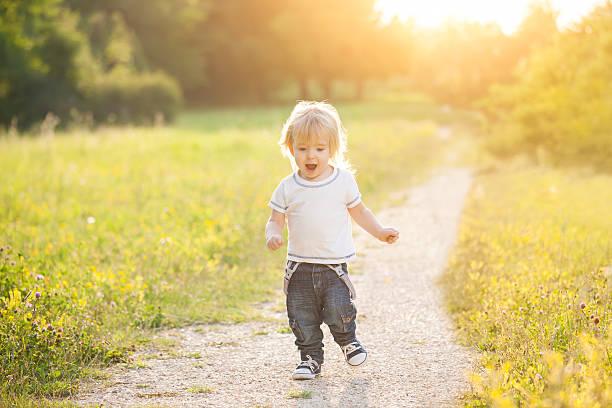 Image result for toddler running outside spring