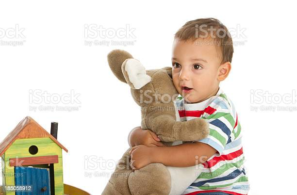 Happy little boy with soft toys picture id185058912?b=1&k=6&m=185058912&s=612x612&h=2amtvhxx9nmz4ak6g xlxayngxultrqiiaxqrk6frbe=