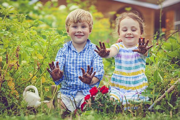 Happy little girl and boy in garden picture id639762824?b=1&k=6&m=639762824&s=612x612&w=0&h=md71tsfou 5fjruycvkfcbb7bsrzn 4wru67xnmfnzs=