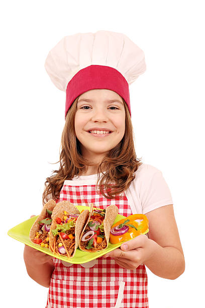royalty free girl taco pictures images and stock photos istock