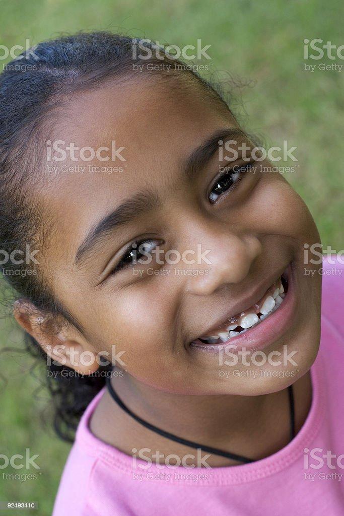 Happy Little Girl royalty-free stock photo