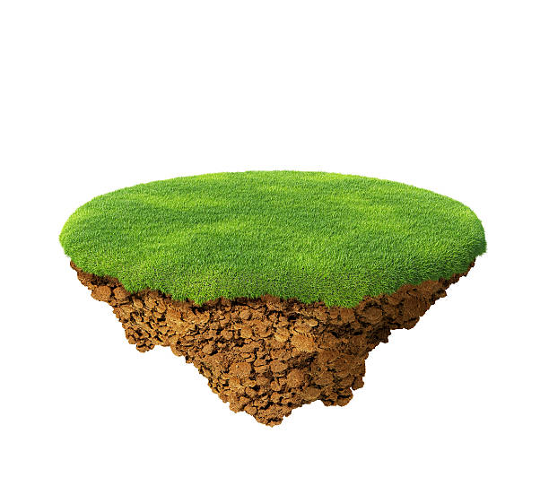 Happy little planet concept. Isolated. Multiuse. stock photo