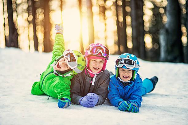 Happy little skiers lying on ski slope picture id624872986?b=1&k=6&m=624872986&s=612x612&w=0&h=r rhncxdhcyj150cxmtjqz23vlonseqvnup0eswqsz0=