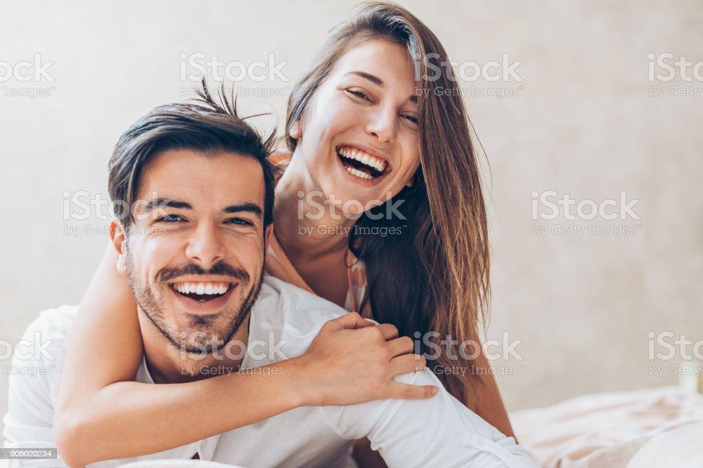 Glücklich Liebe - Lizenzfrei Attraktive Frau Stock-Foto