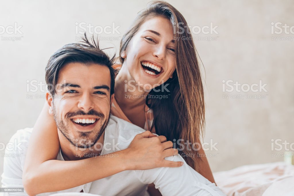 Happy love stock photo