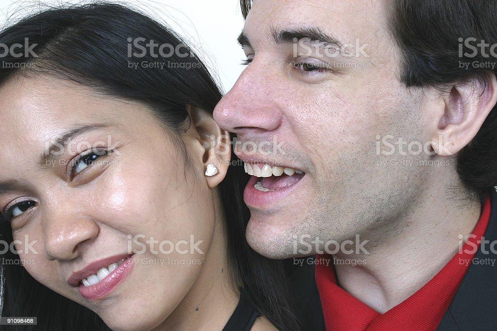 Happy lover royalty-free stock photo