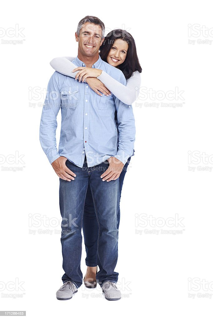 Happy loving couple stock photo