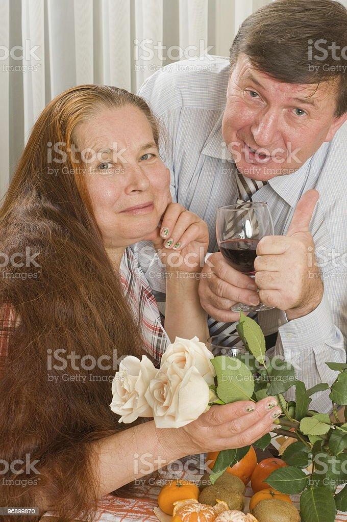Happy loving couple. royalty-free stock photo