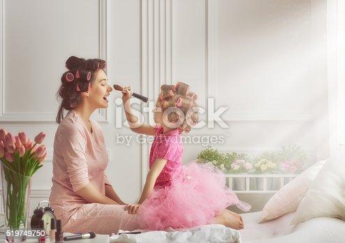 istock Happy loving family 519749750