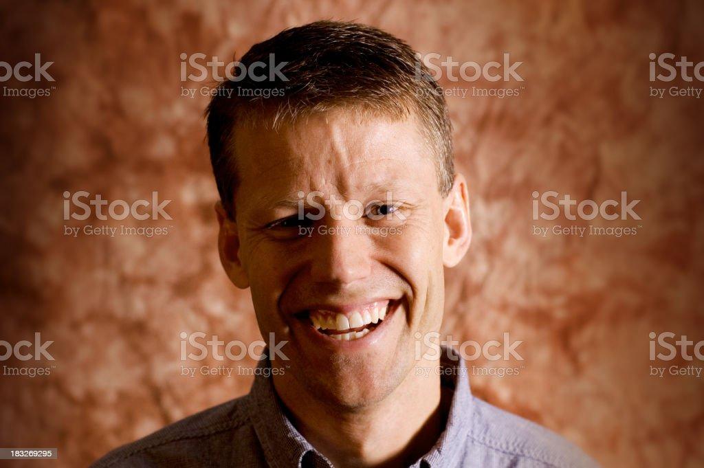 Happy Man 5 royalty-free stock photo