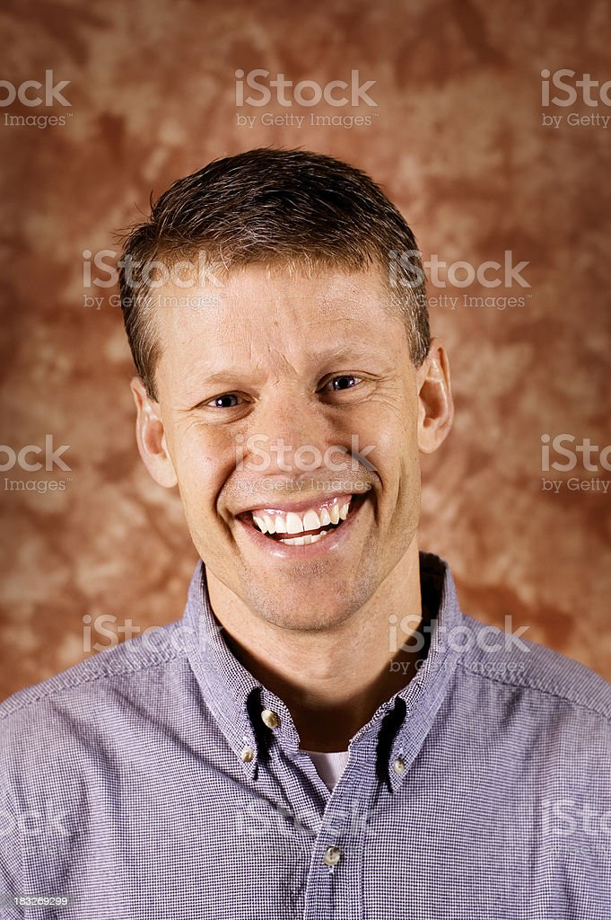 Happy Man 6 royalty-free stock photo
