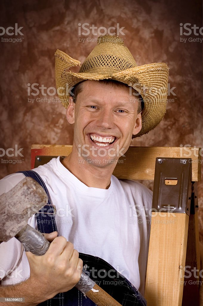 Happy Man 7 royalty-free stock photo
