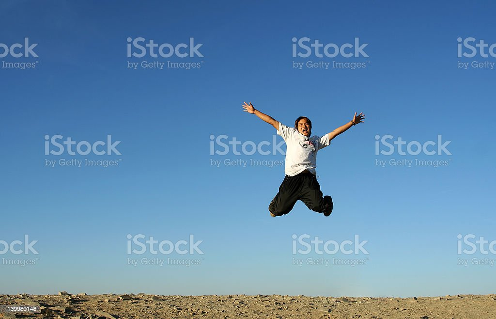 Happy man royalty-free stock photo