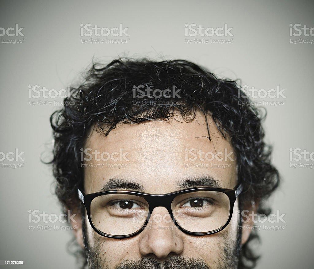 Happy man. royalty-free stock photo