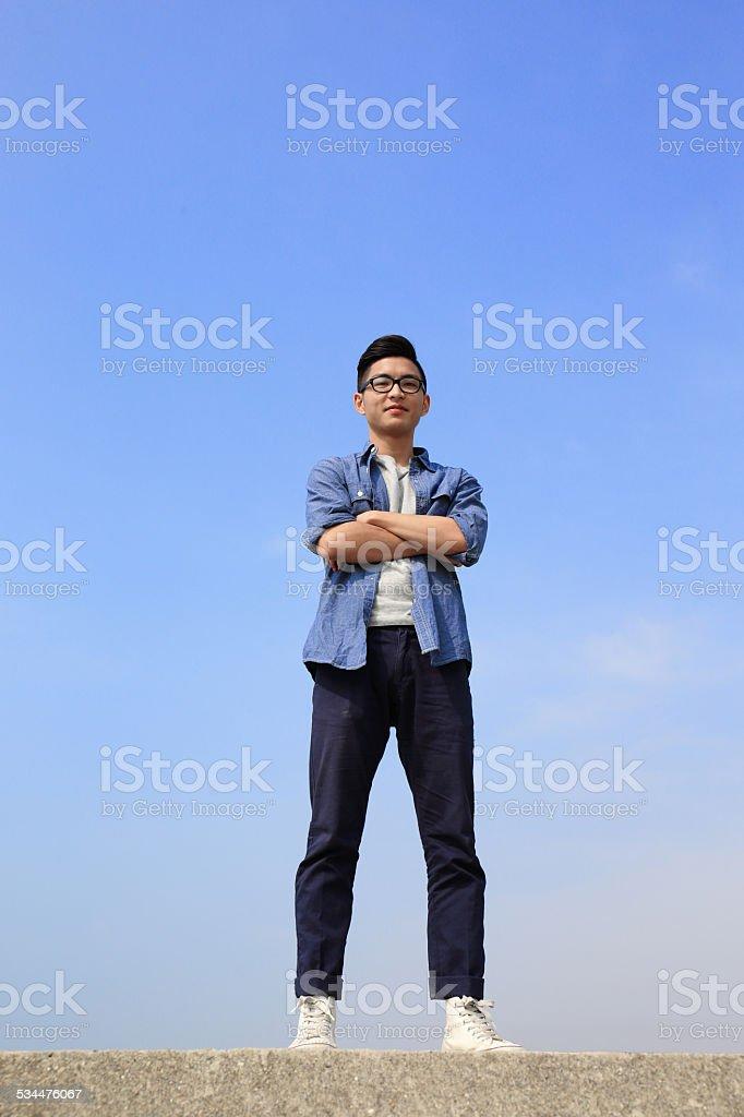 Glücklicher Mann – Foto