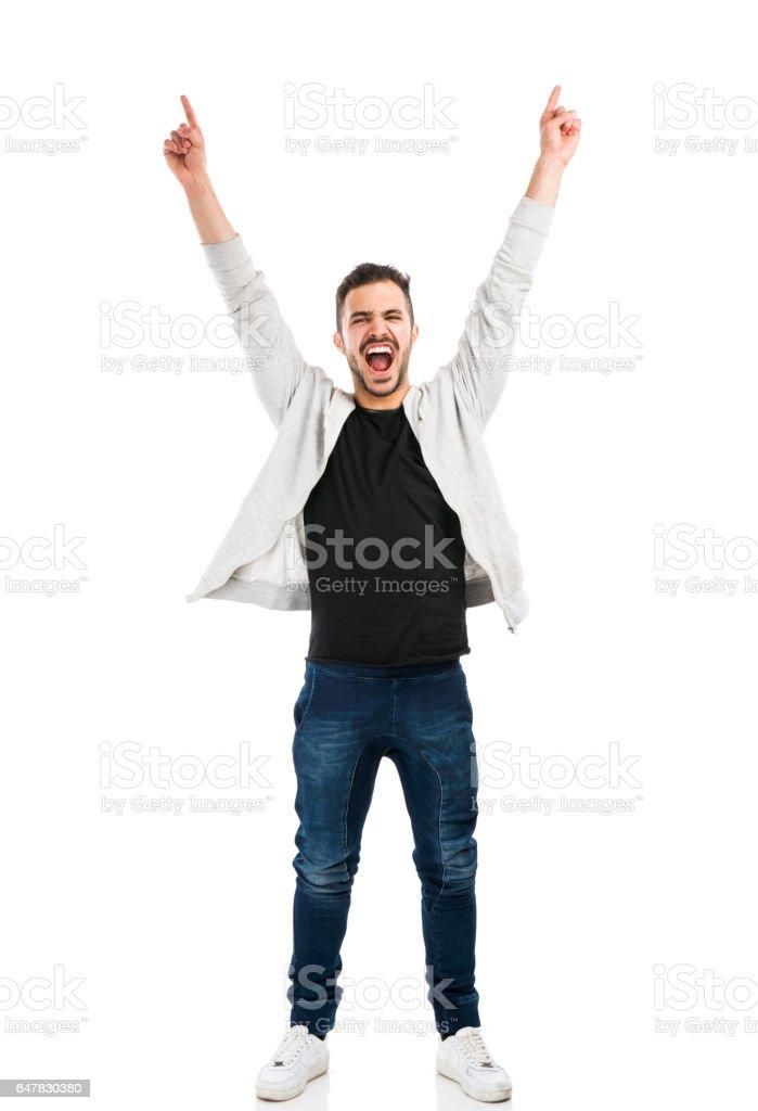 Hombre feliz - foto de stock