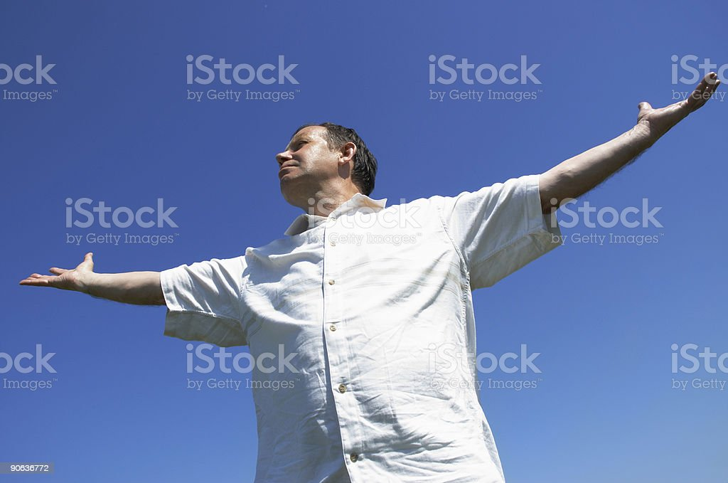 happy man - Royalty-free Adult Stock Photo