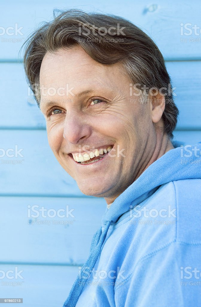 happy man. royalty-free stock photo