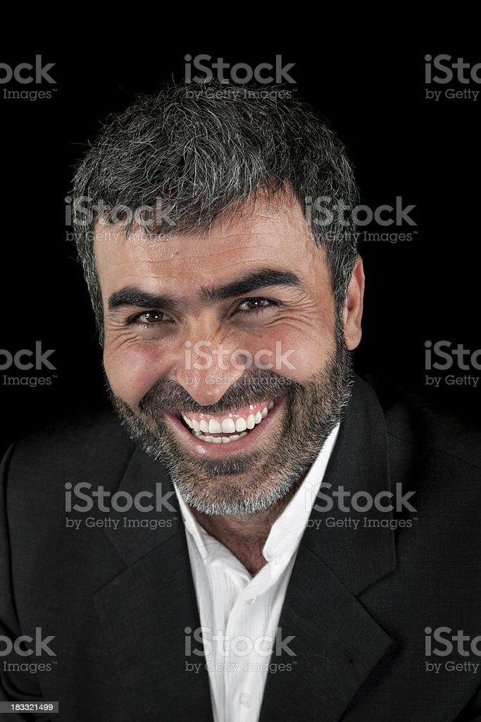Happy man portrait royalty-free stock photo