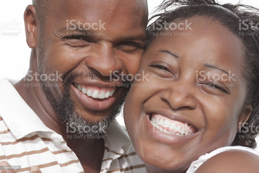 happy married couple royalty-free stock photo