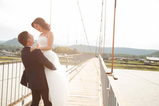 Glücklich verheiratetes Paar – Foto