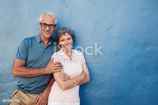529076288 istock photo Happy mature couple standing together 547042730