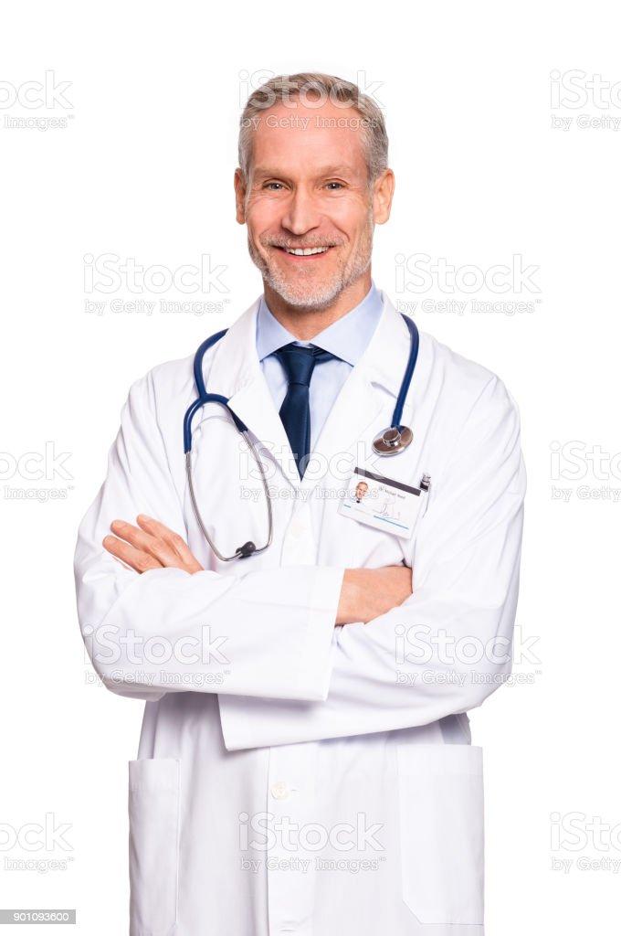 Heureux mature Médecin - Photo