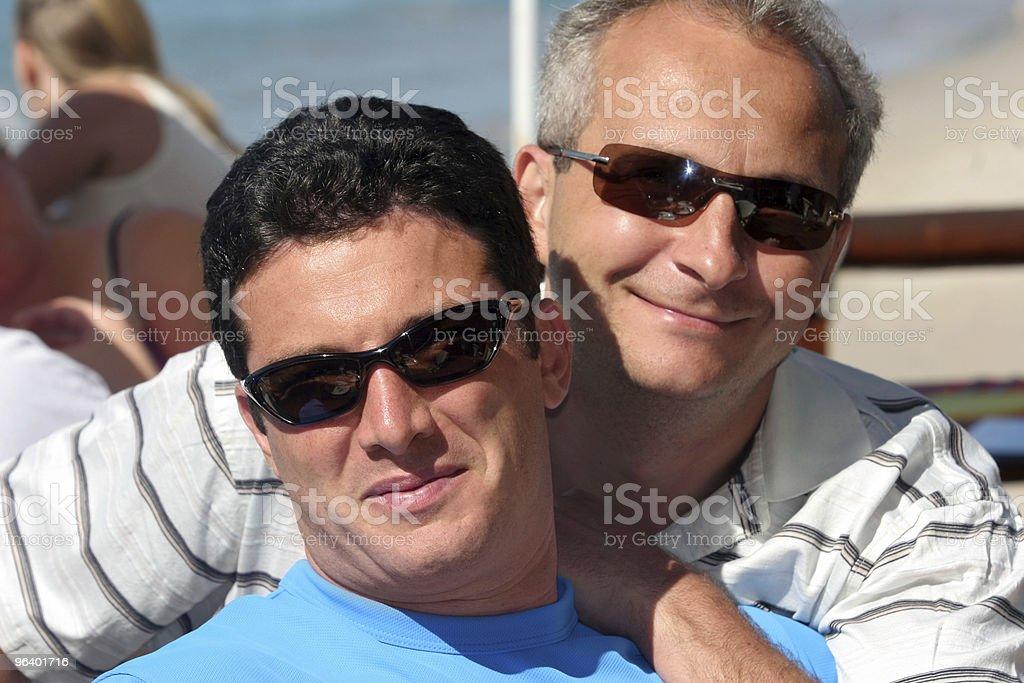 Happy men couple - Royalty-free Adult Stock Photo