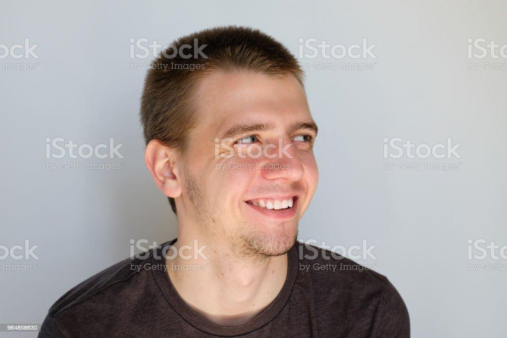 Happy Men Portrait royalty-free stock photo