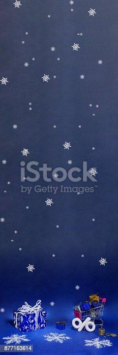 istock Happy Merry Christmas. 877163614