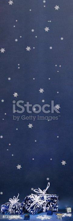 istock Happy Merry Christmas. 877163656