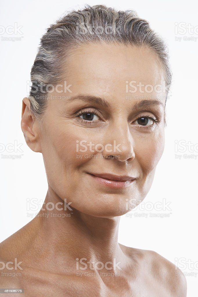 Middle aged woman nude