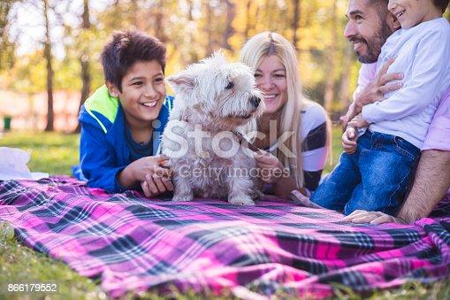 518064982 istock photo Happy mixed-race family 866179552