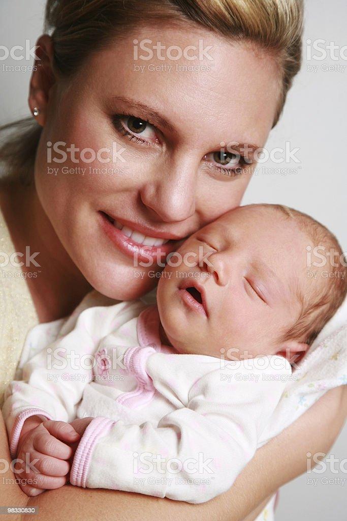 Felice mamma e bambino foto stock royalty-free