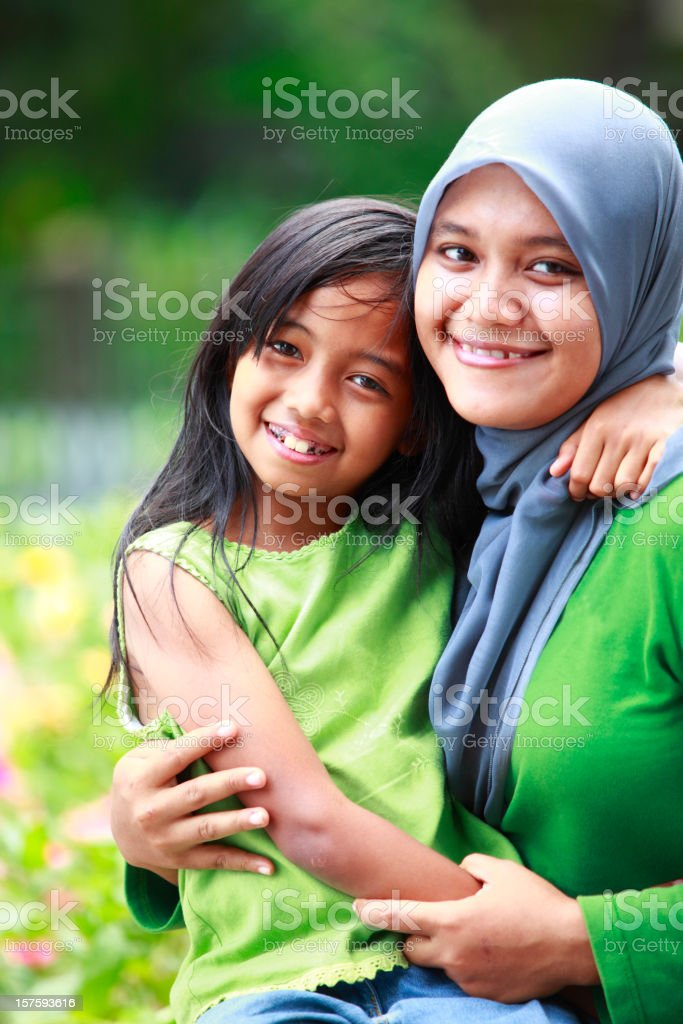 happy mother and her daugher royalty-free stock photo