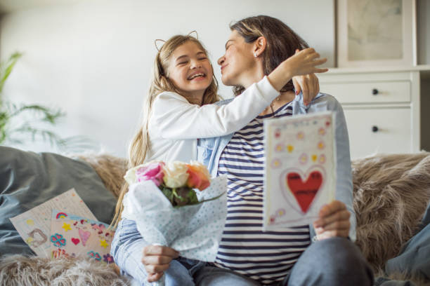 happy mother's day, mom - mothers day stock pictures, royalty-free photos & images