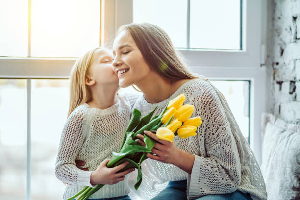 happy mothers day! - mothers day stock pictures, royalty-free photos & images