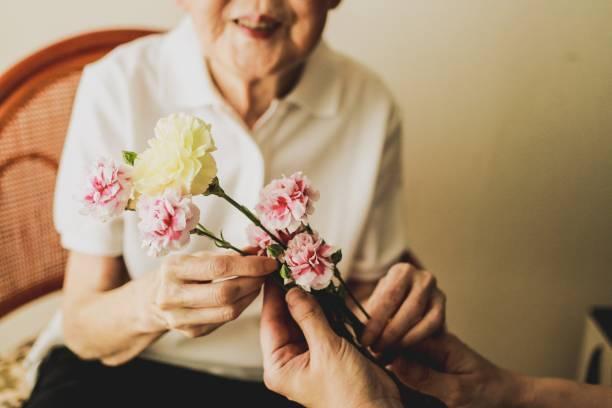 母の日おめでとう - 祖父母の日 ストックフォトと画像