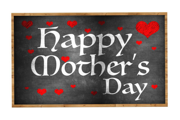 happy mothers day - happy mothers day type stock photos and pictures