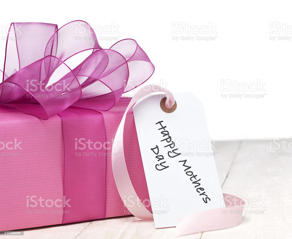 Happy Mothers Day Present royalty-free stock photo