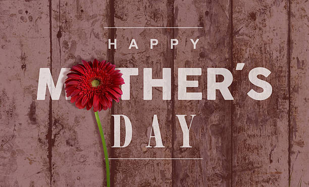happy mothers day vintage background - happy mothers day type stock photos and pictures