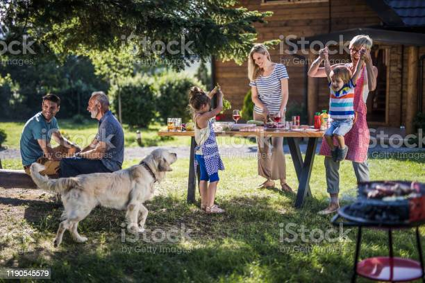 Happy multigeneration family enjoying in garden party in the backyard picture id1190545579?b=1&k=6&m=1190545579&s=612x612&h=y7bs1hpgtaams19nsp6e4ydxd3ukscorrvukcac0v7e=