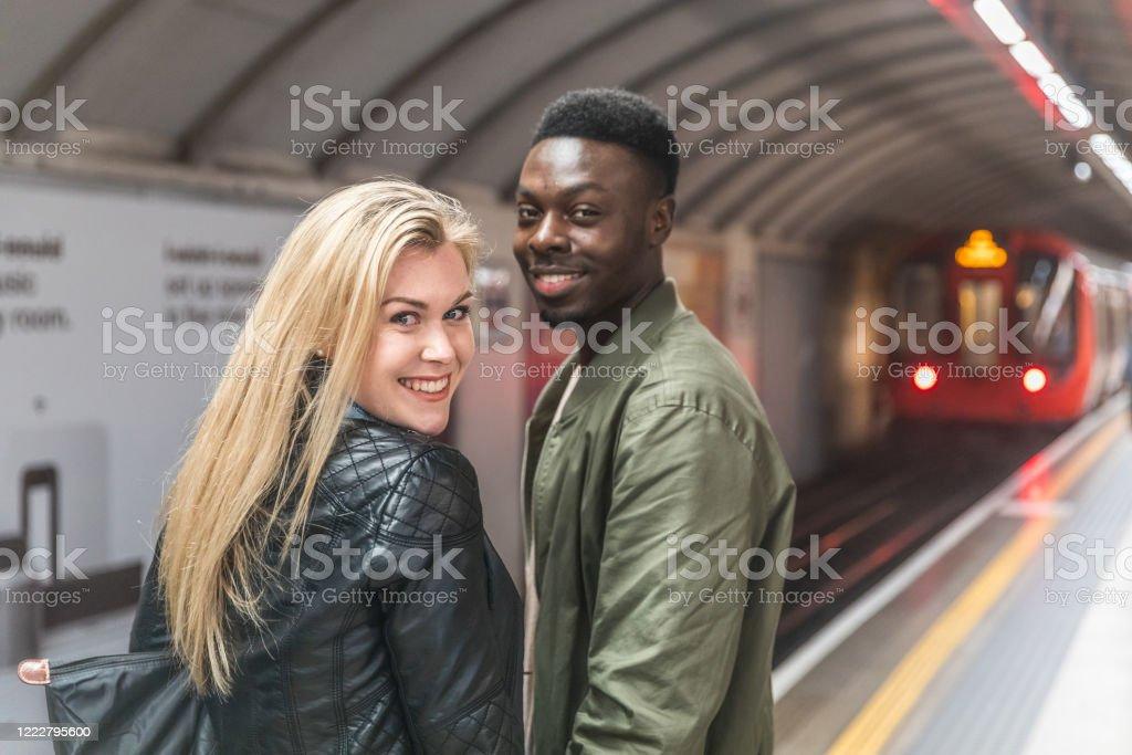 White girl dating a black man