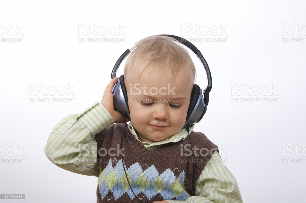 Happy Music royalty-free stock photo
